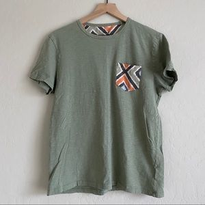 Gap Lived In T-Shirt with Aztec Pocket